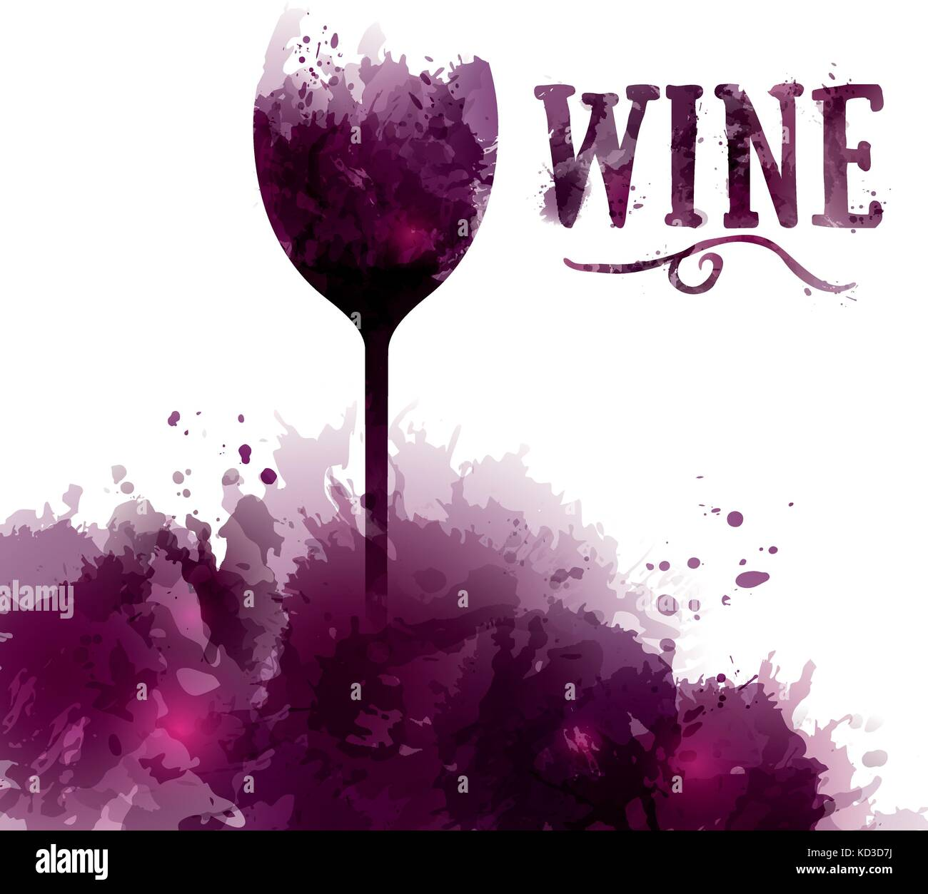 Template wine list, invitation, event or party. Wine in English ...