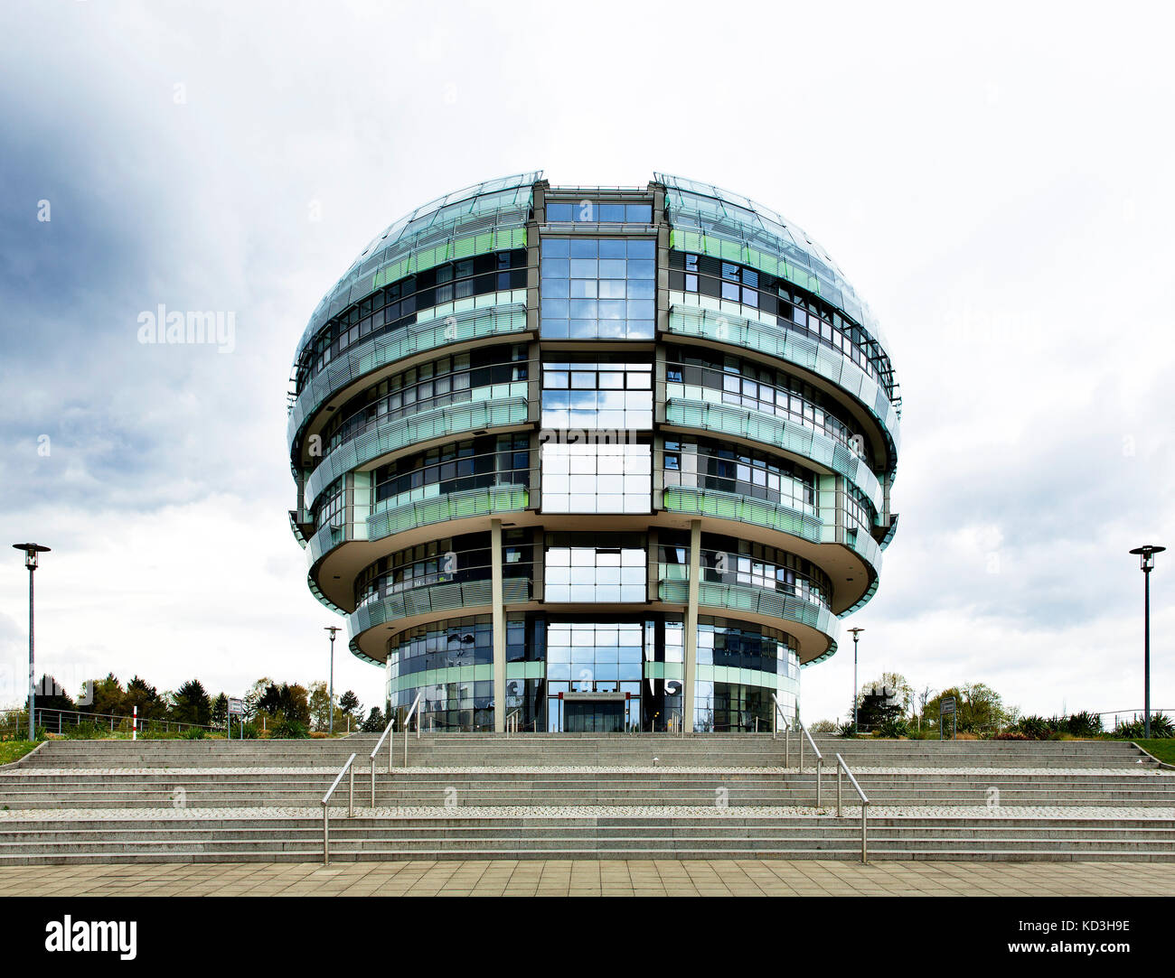 Medical Park Hannover, International Neuroscience Institute, INI, Clinic and Research Building, Hanover, Lower Saxony, - Stock Image