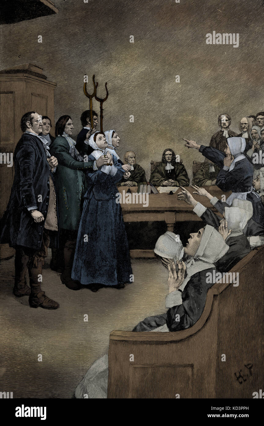 an analysis of the salem witch trials in the massachusetts bay colony The salem witch trials were a series of hearings and prosecutions of people accused of witchcraft in colonial massachusetts between february 1692 and may 1693 more than 200 people were accused, nineteen of whom were found guilty and executed by hanging (fourteen women and five men.