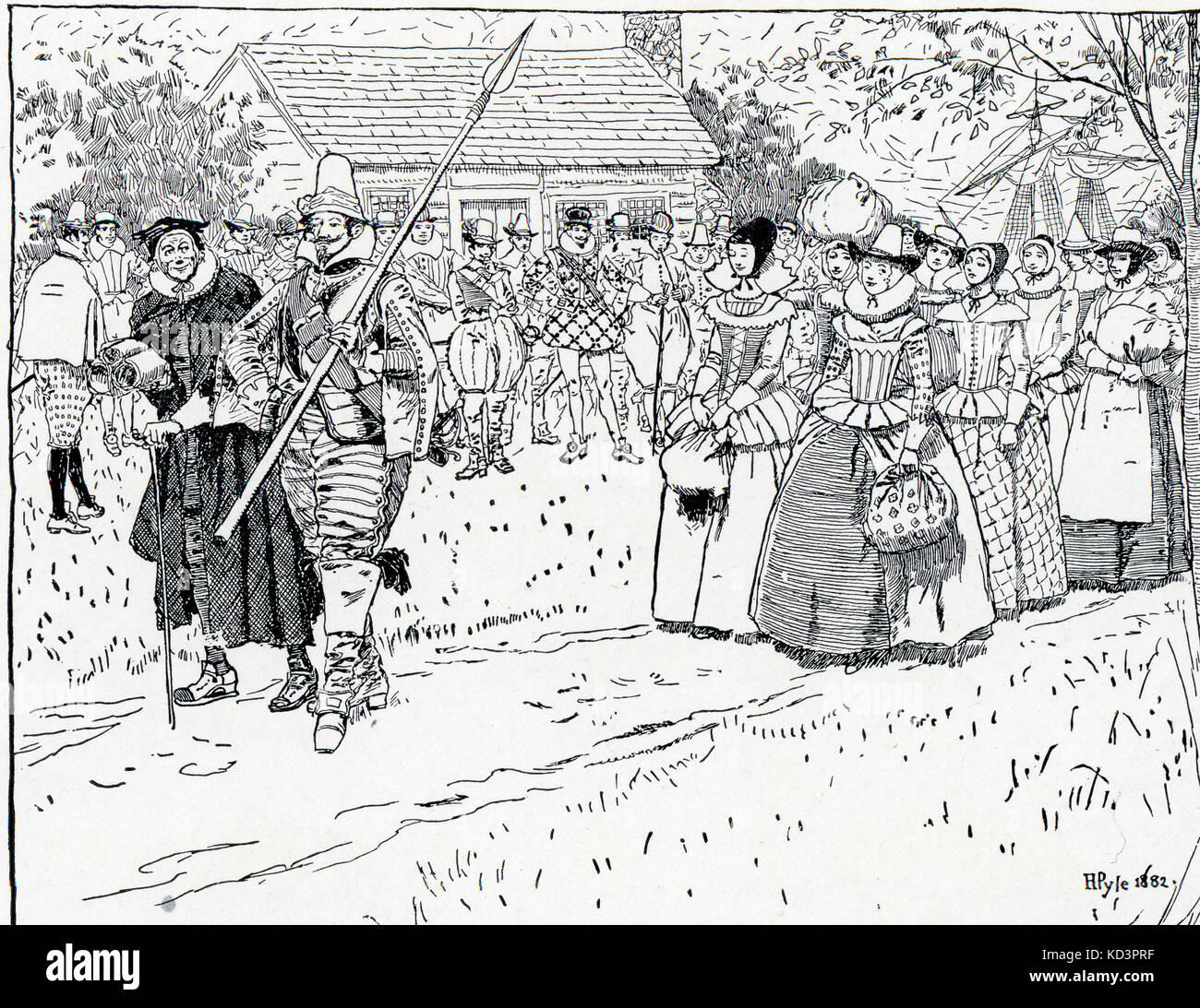 33 arrival of the english in virginia virtual jamestown - HD1024×852