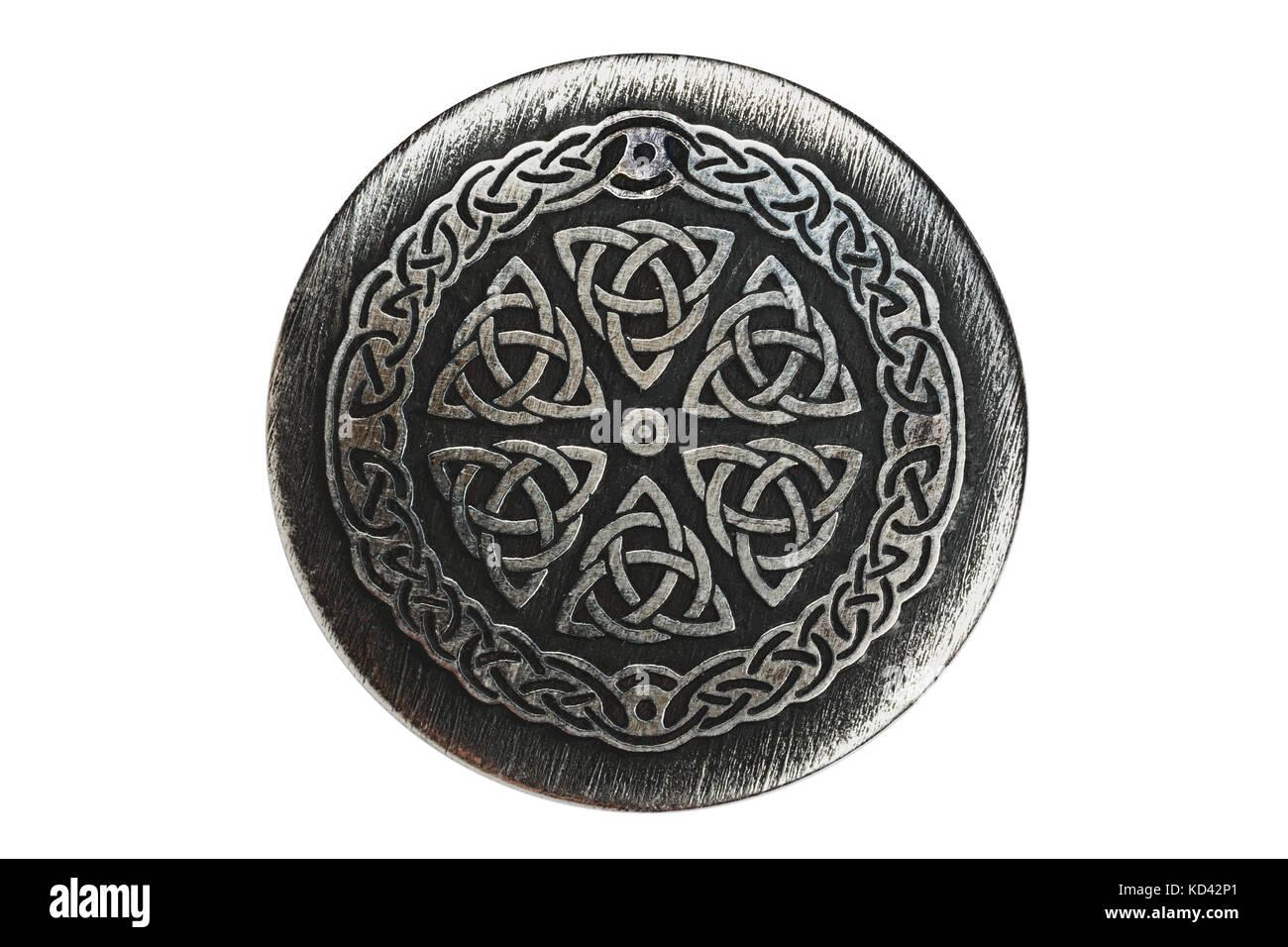 Trinity. The ancient symbol - Stock Image