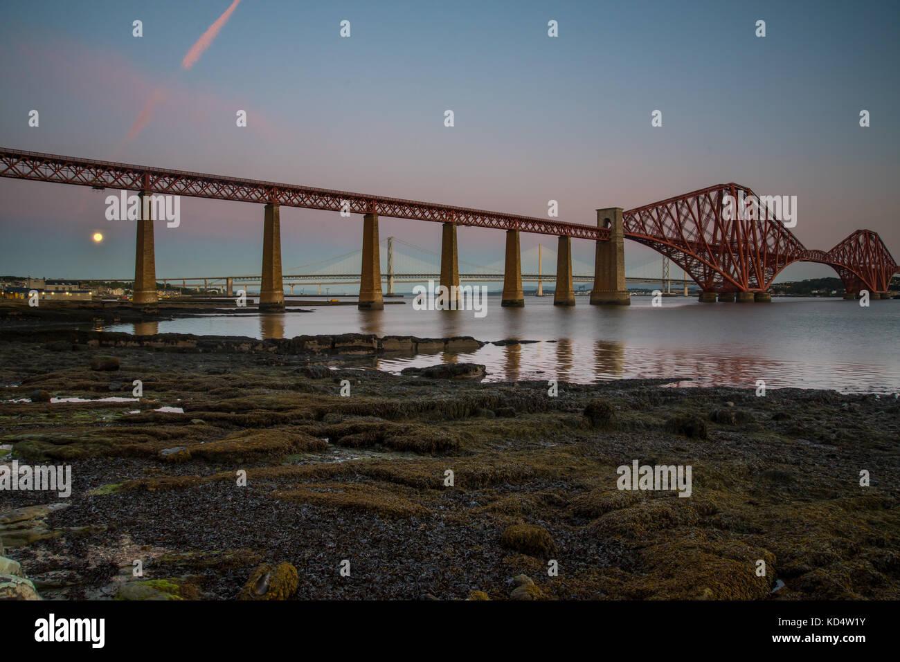 Forth Road Bridge - Stock Image