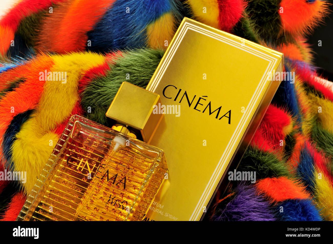 Yves Saint Laurent Lifestyle Perfum Odour Cinema Gift Yves