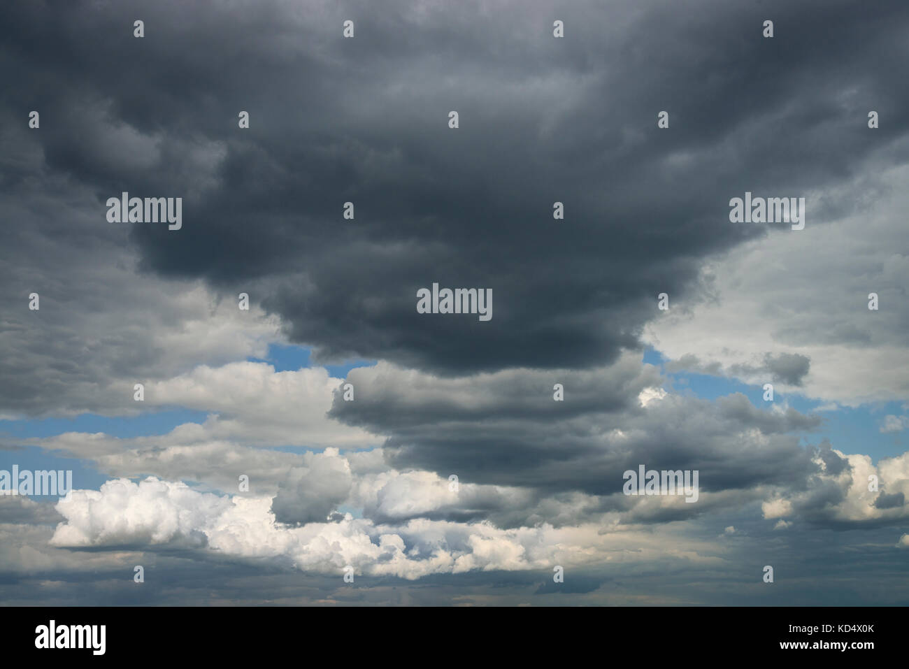 Interesting & Dramatic Storm Cloud Formation - Stock Image