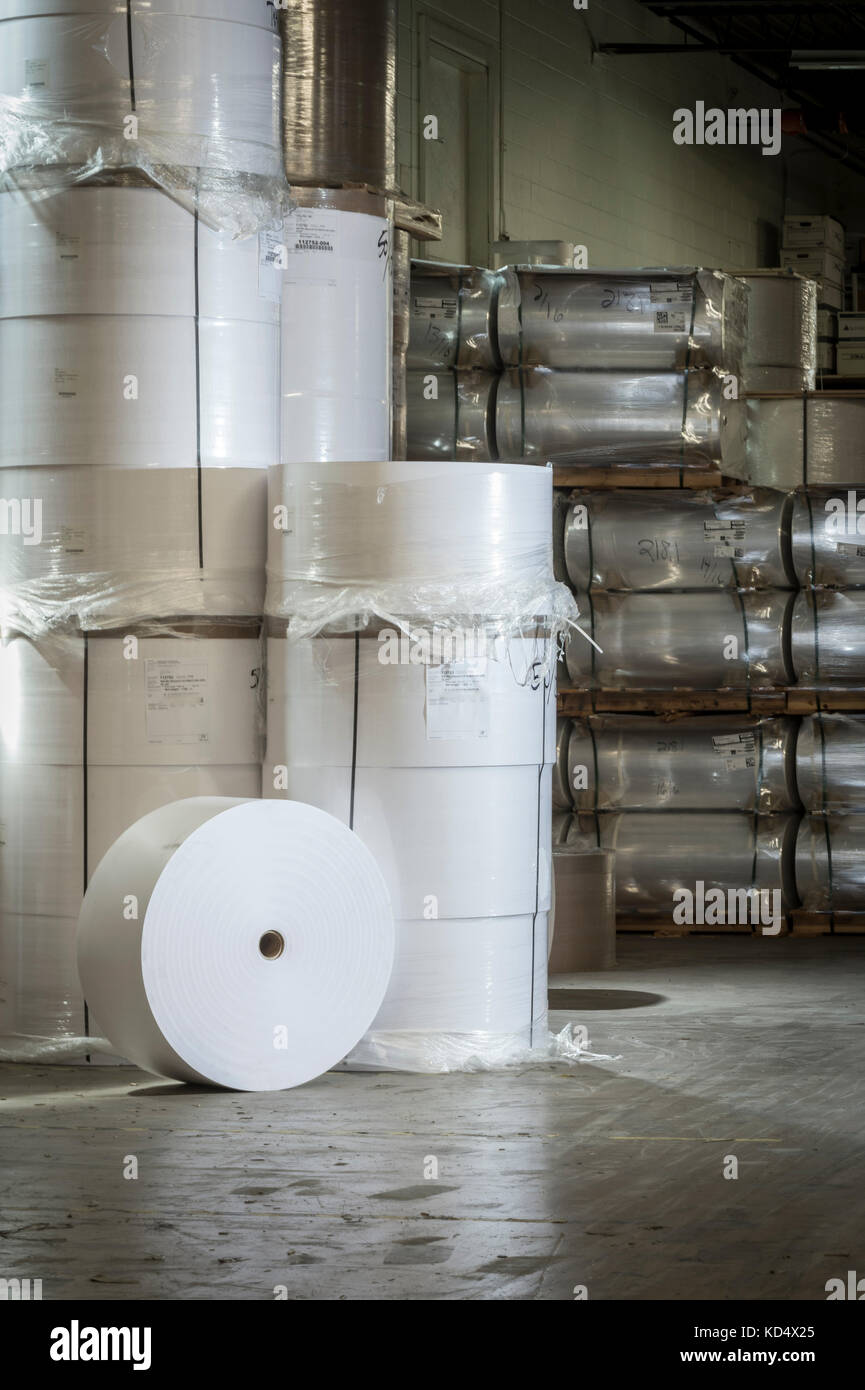 Large Paper Rolls Stock Photos Large Paper Rolls Stock Images Alamy