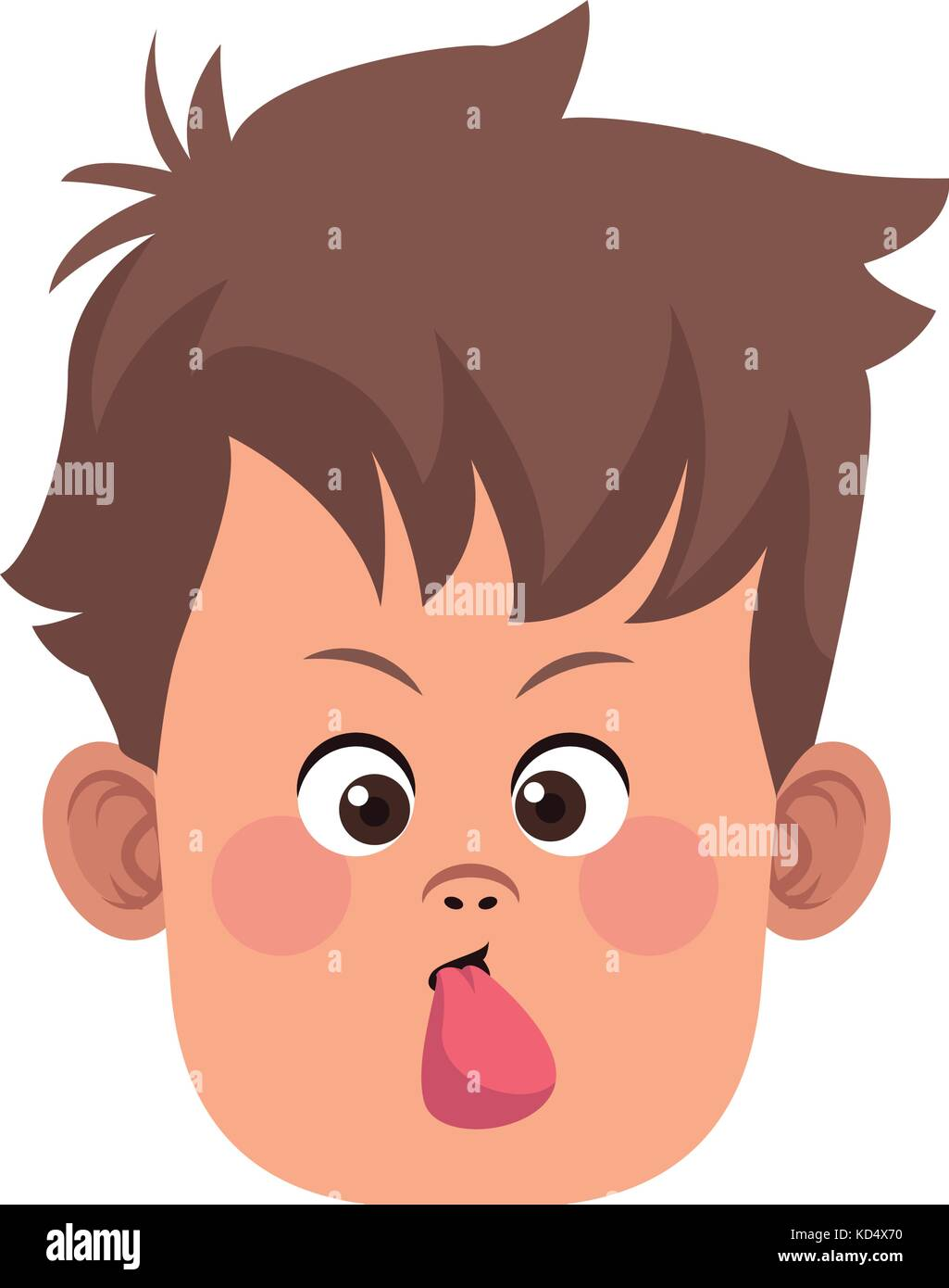 Funny Cartoon Images Of Boys funny boy face stock vector art & illustration, vector image
