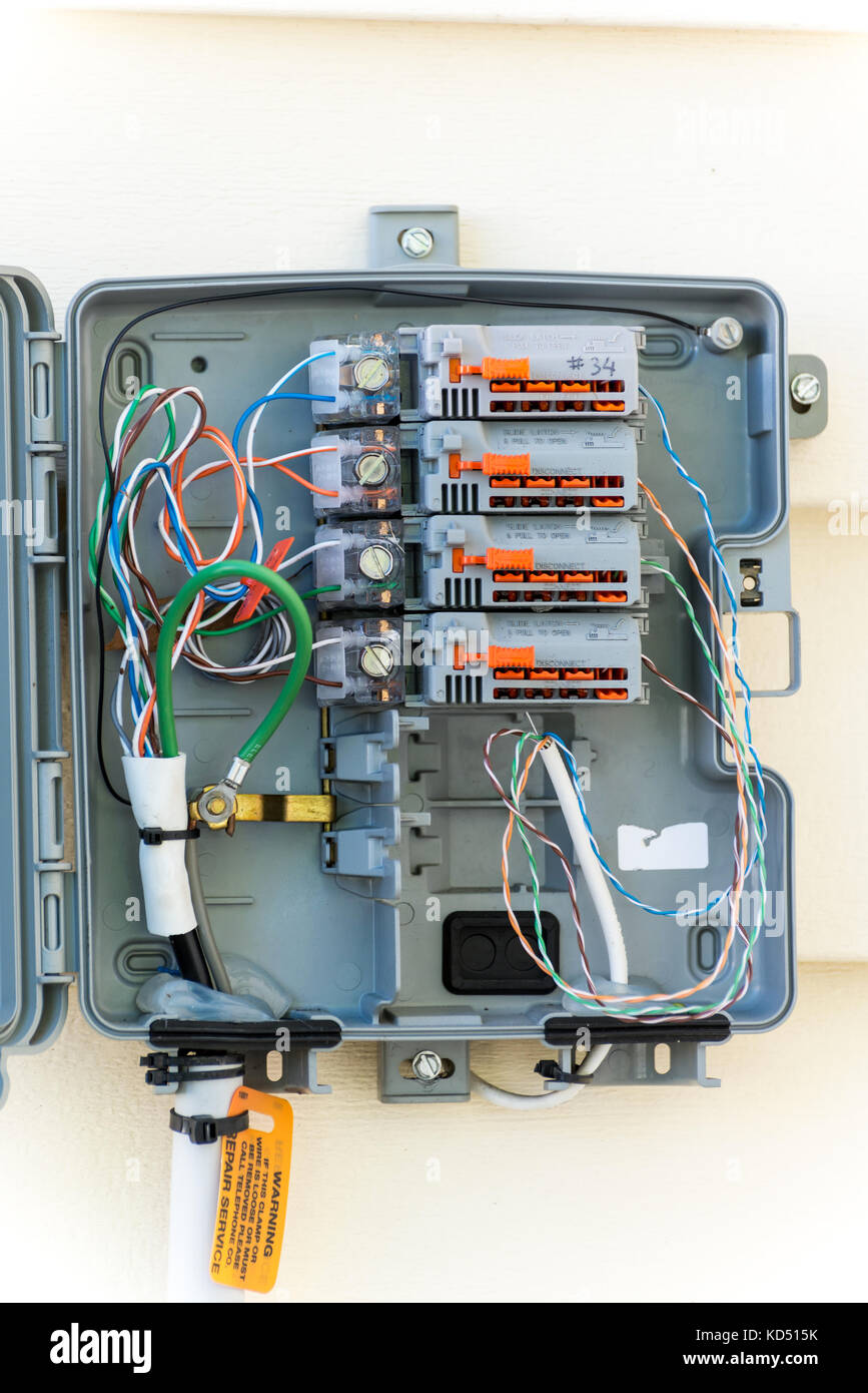 Residential Electrical Wiring Stock Photos & Residential Electrical ...