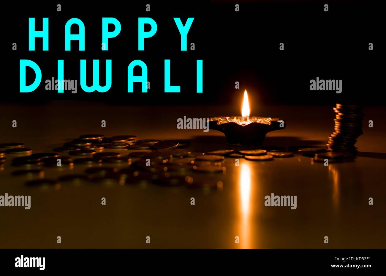 Happy Diwali Wishes And Greetings Stock Photo 162995561 Alamy