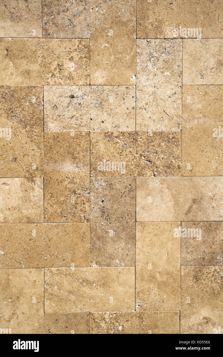 Decorative cubic stone wall as background texture Stock Photo ...