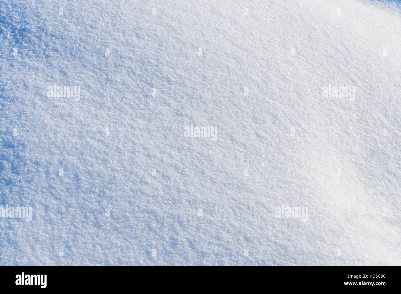 Clear fresh snow as background or texture Stock Photo