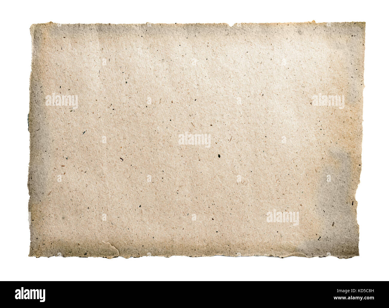 coarse recycled paper texture or background - Stock Image