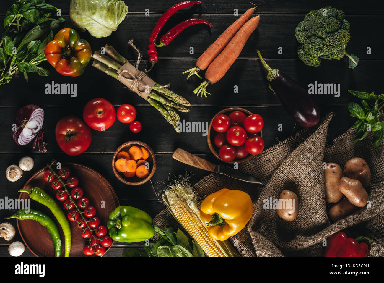 vegetables  - Stock Image