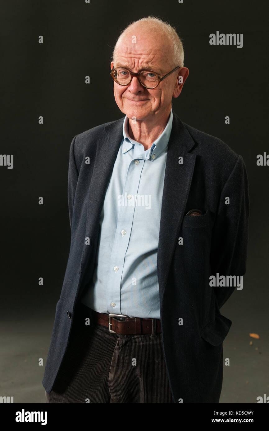 English neurosurgeon Henry Marsh attends a photocall during the Edinburgh International Book Festival on August Stock Photo