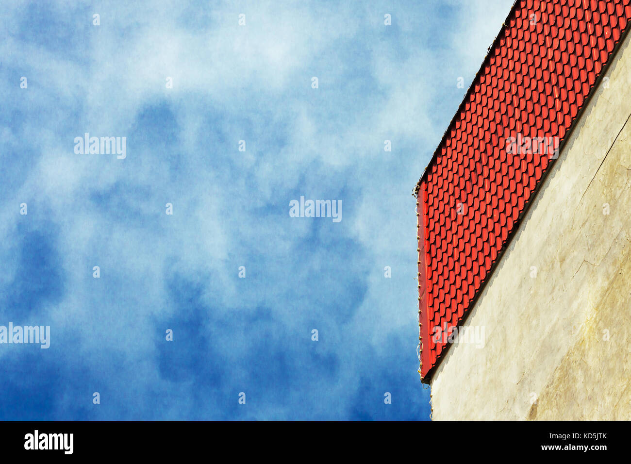 Red Metal Roof Stock Photos Amp Red Metal Roof Stock Images