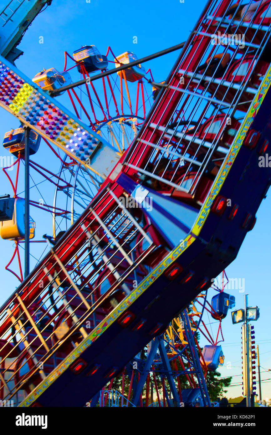 Fryeburg Fair Dates 2020.Carnival Midway Rides Stock Photos Carnival Midway Rides