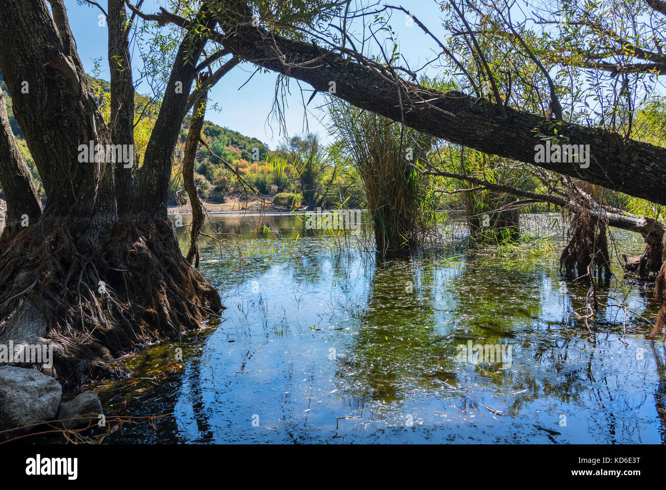 twin lakes izmir Stock Photo