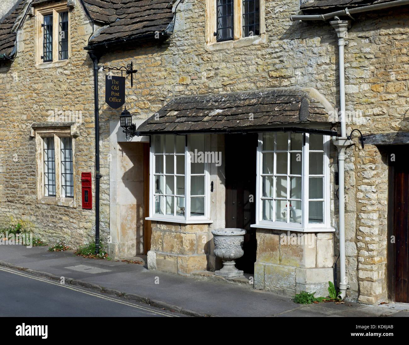 Castle Combe, Wiltshire, England UK - Stock Image