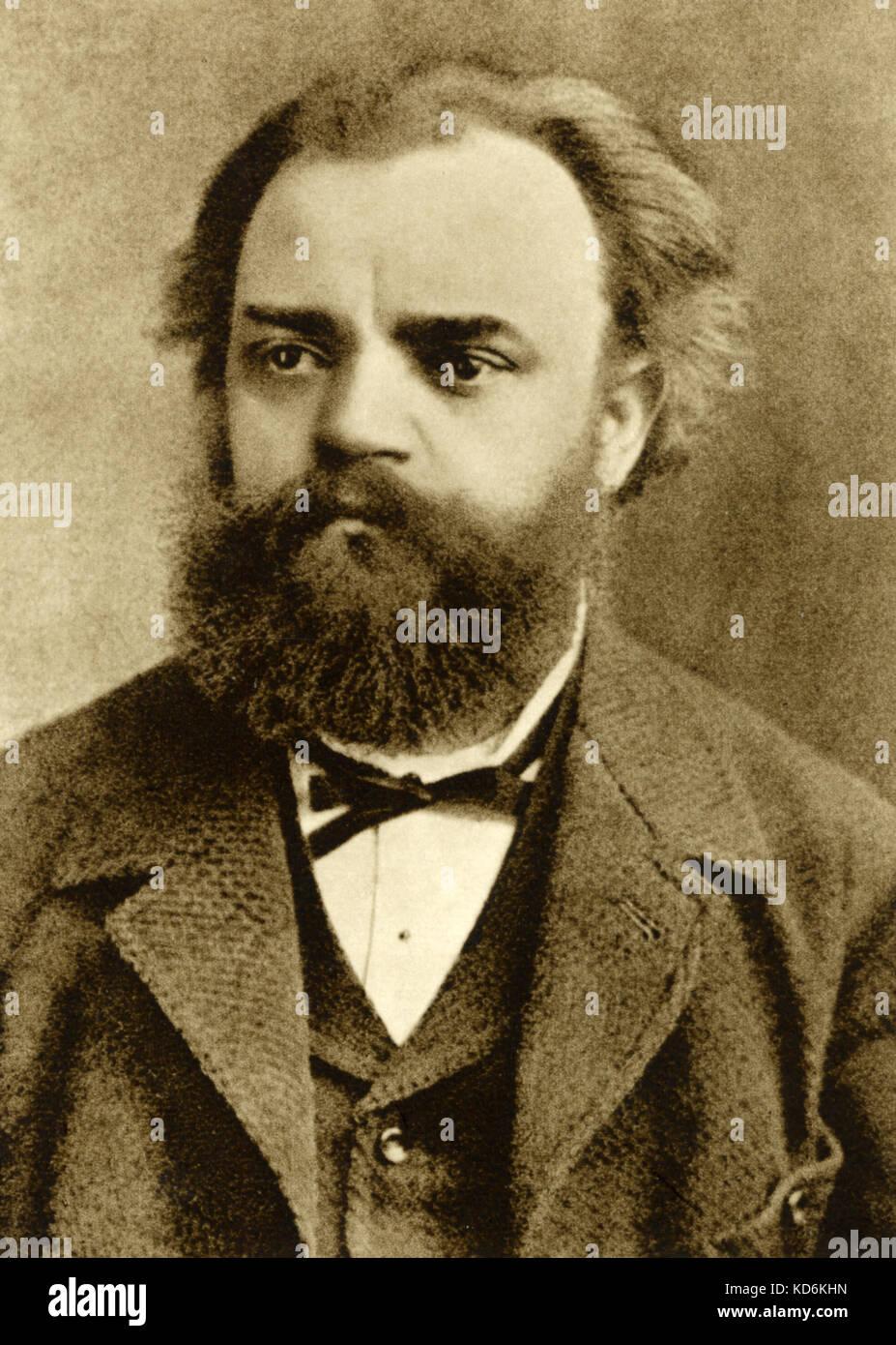Antonin dvorak portrait czech composer 8th september 1841 for Mobel dvorak