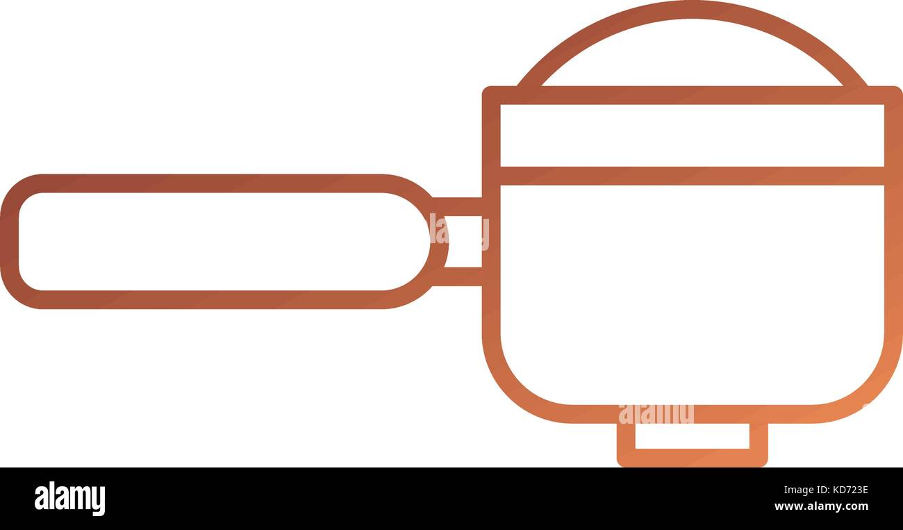 portafilter espresso coffee machine accessory stock vector image art alamy alamy