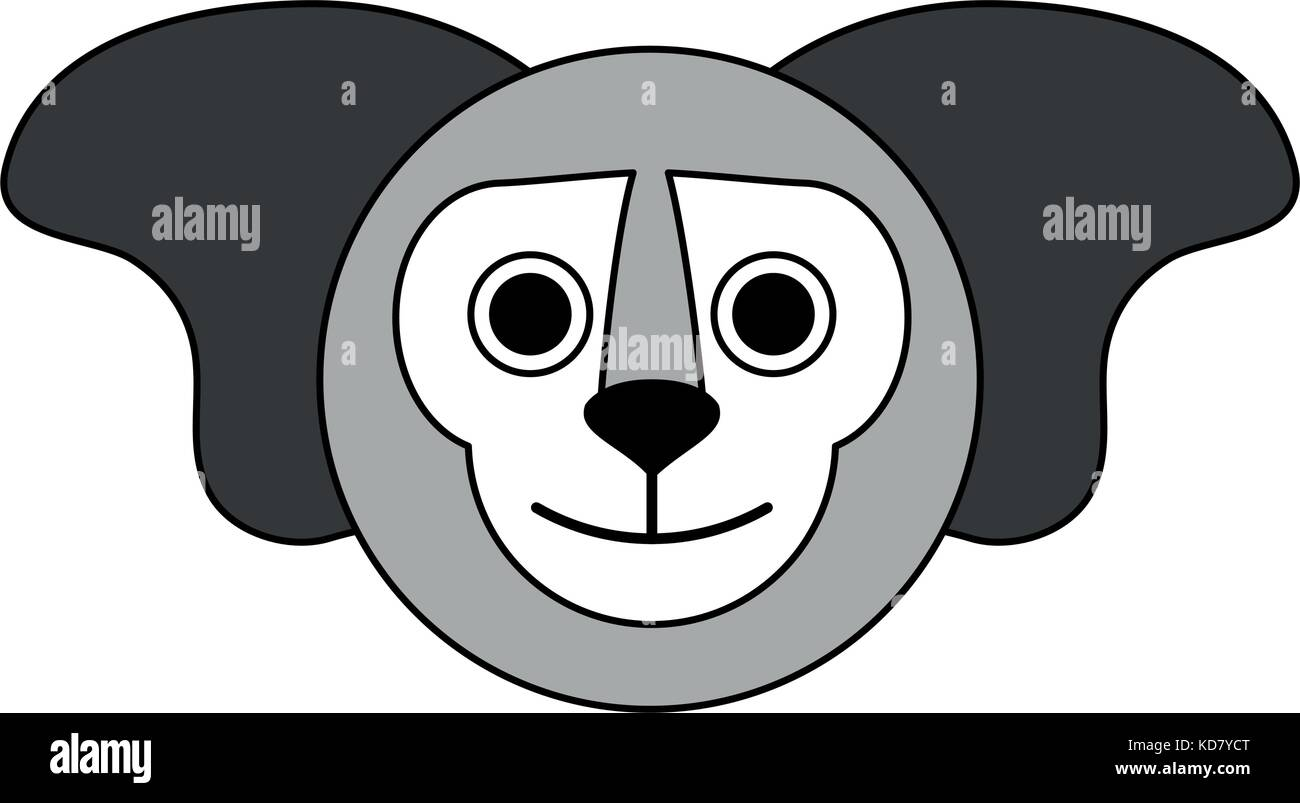 Cute koala animal - Stock Vector