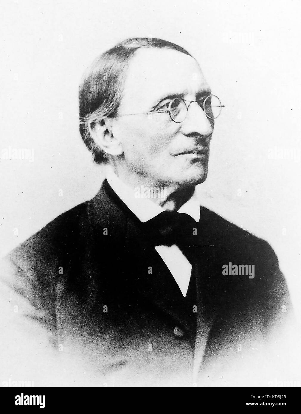 CARL LUDWIG (1816-1895) German physician and physiologist - Stock Image