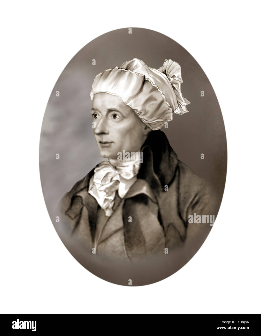 William Cowper, 1731 - 1800, English Poet. Hymnodist - Stock Image