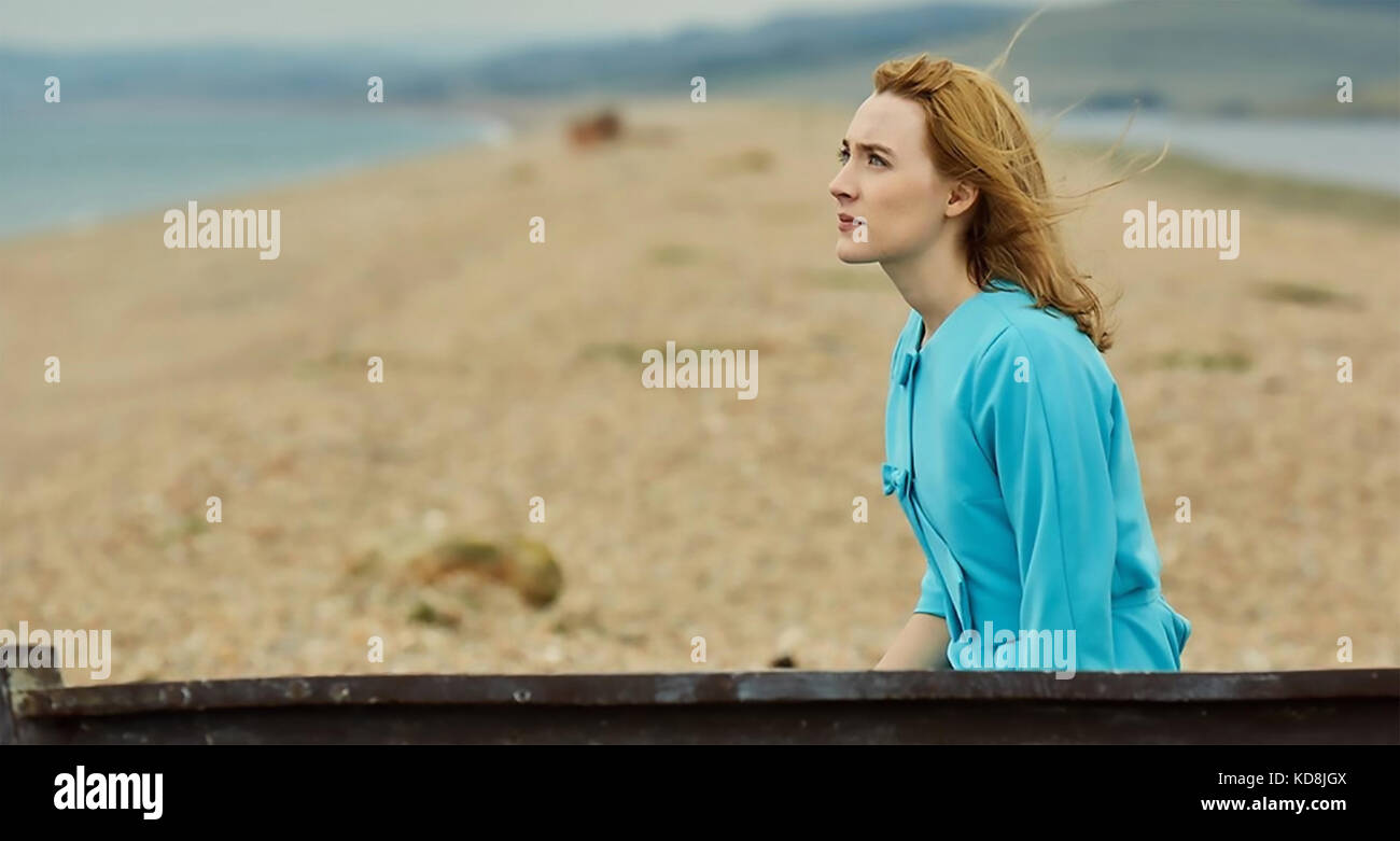 ON CHESIL BEACH 2017 BBC Films production with Saoirse Ronan - Stock Image