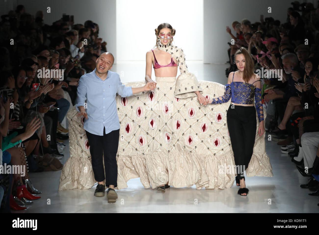 New York Fashion Week S S 2018 Namilia Runway Featuring Namilia Stock Photo 163082865 Alamy
