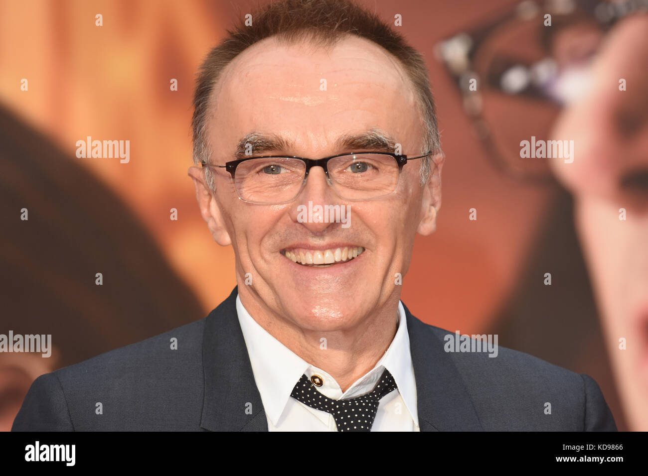 Danny Boyle'Battle of the Sexes' - European Premiere,BFI London Film Festival,Odeon Leicester Square,London.UK - Stock Image
