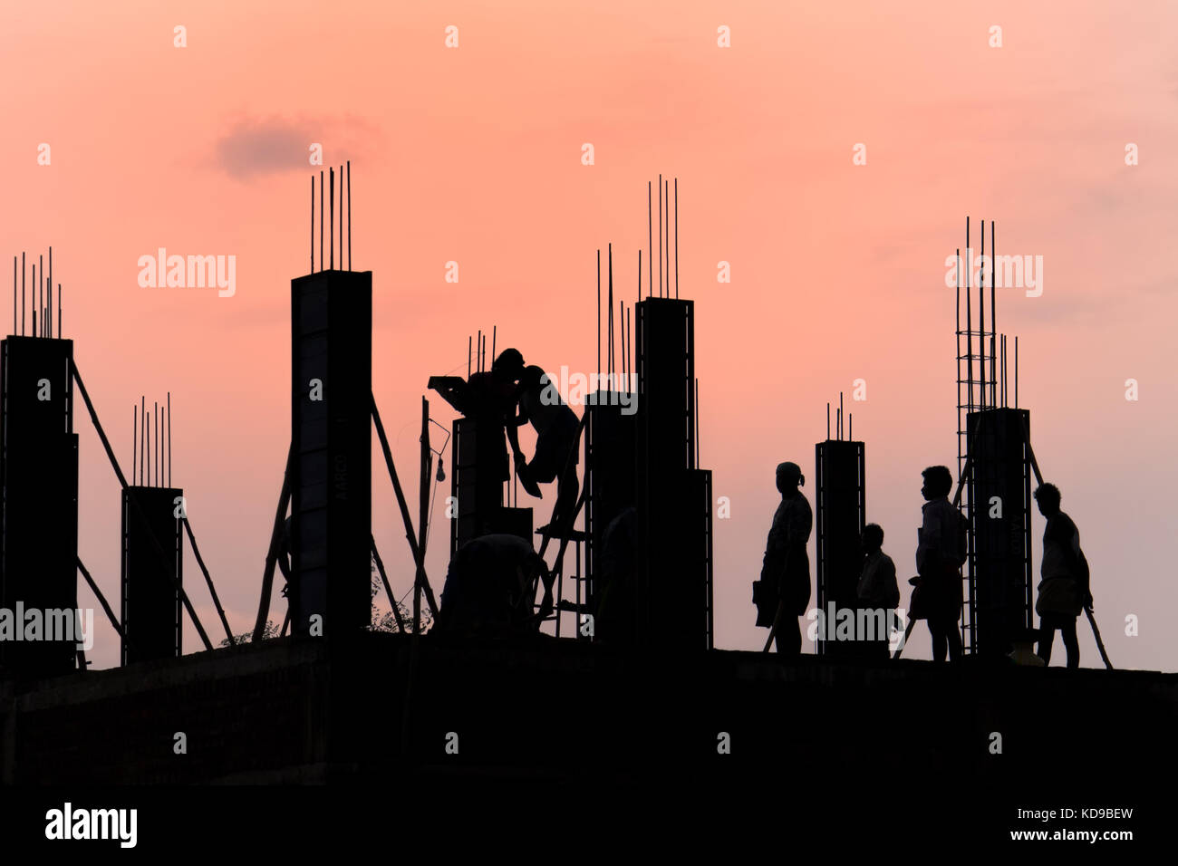 People working together - Stock Image
