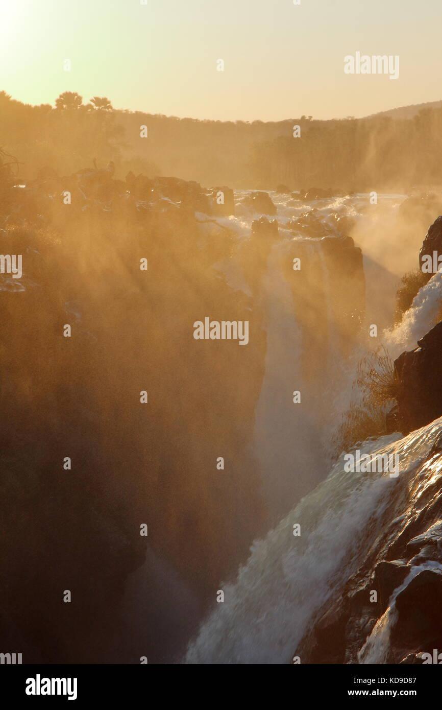 Epupa Falls / Monte Negro Falls - Stock Image