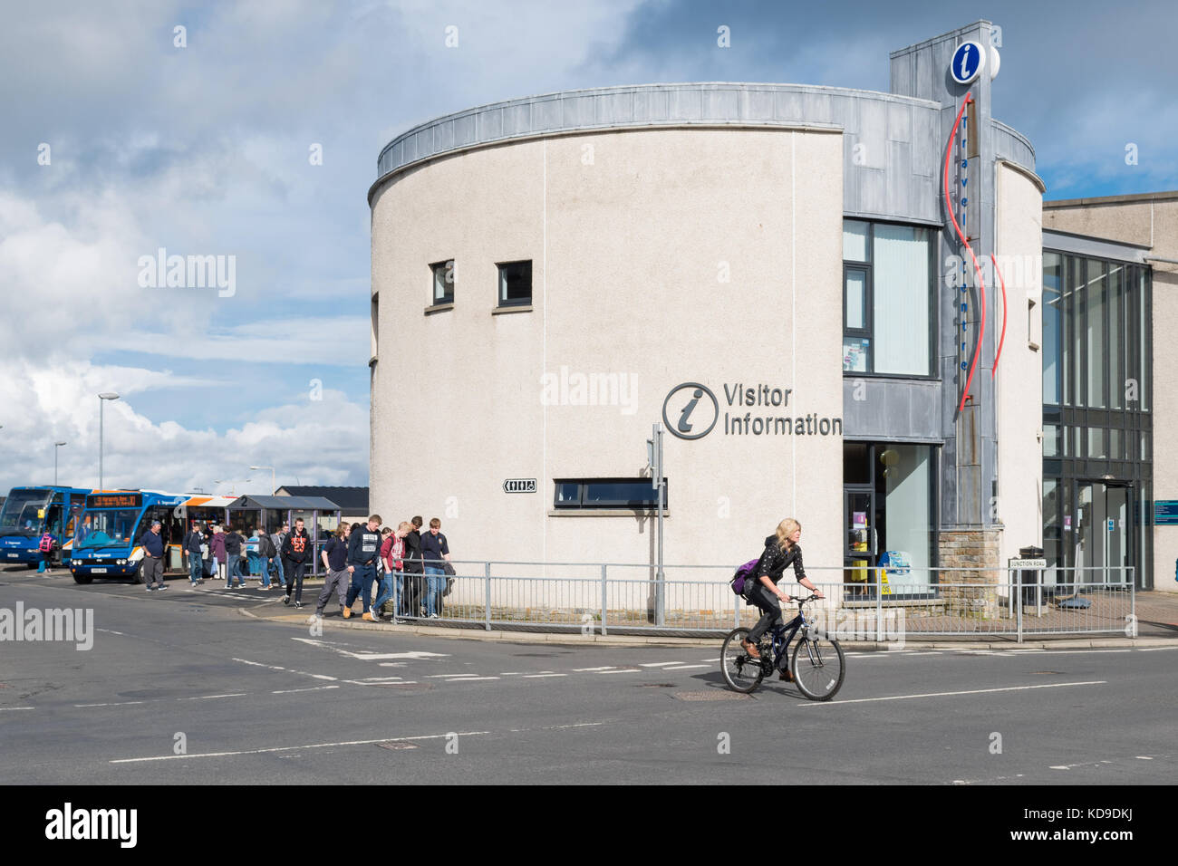 Kirkwall Visitor Information Centre, Orkney, Scotland, UK - Stock Image