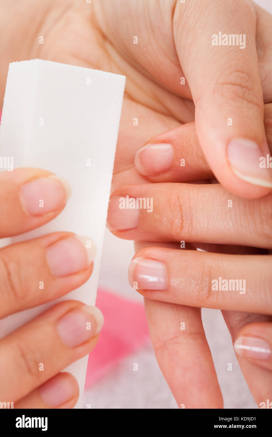 Filing Nails Stock Photos & Filing Nails Stock Images - Alamy