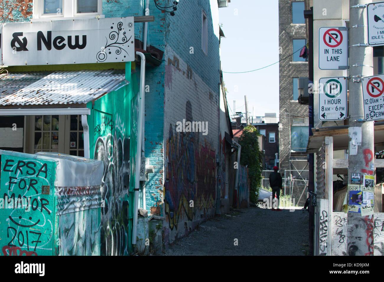 Kensington Place Toronto - Stock Image