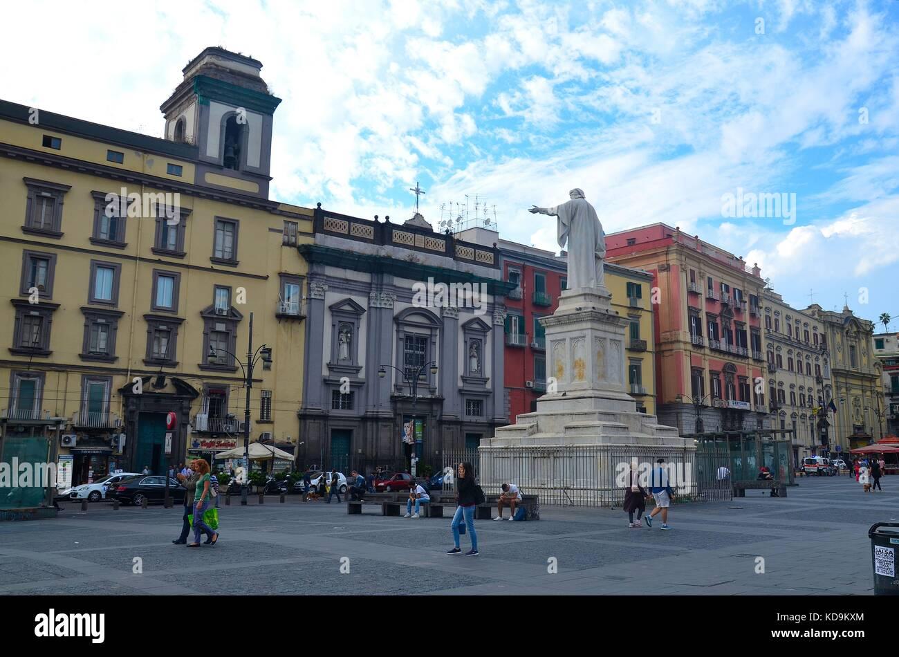 Neapel, Innenstadt - Stock Image