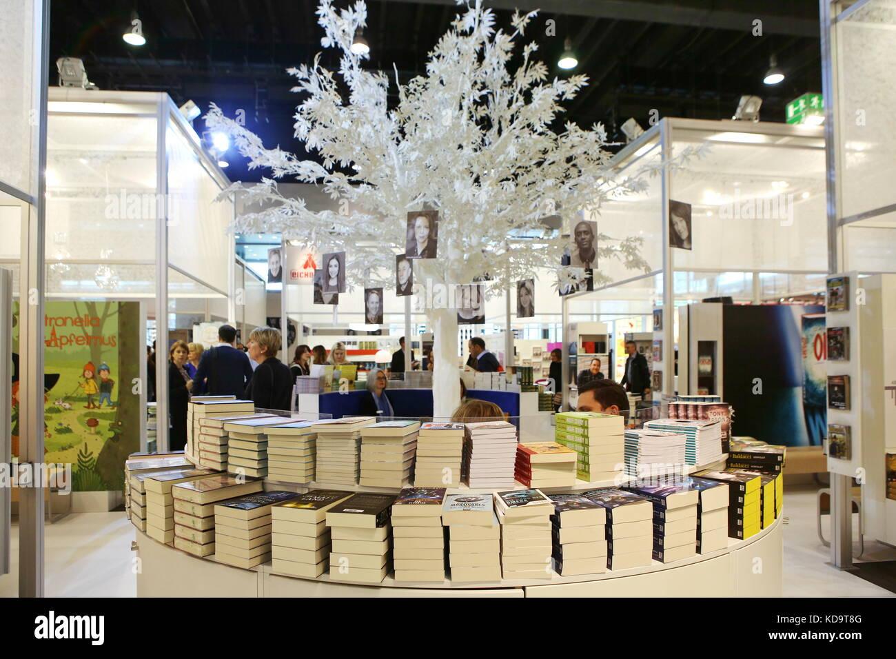 Frankfurt, Germany. 11th October, 2017. Buchmesse ...