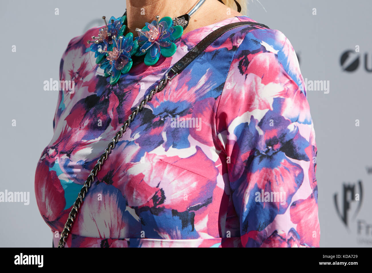 Blue And Pink Floral Dress Stock Photos Blue And Pink Floral Dress