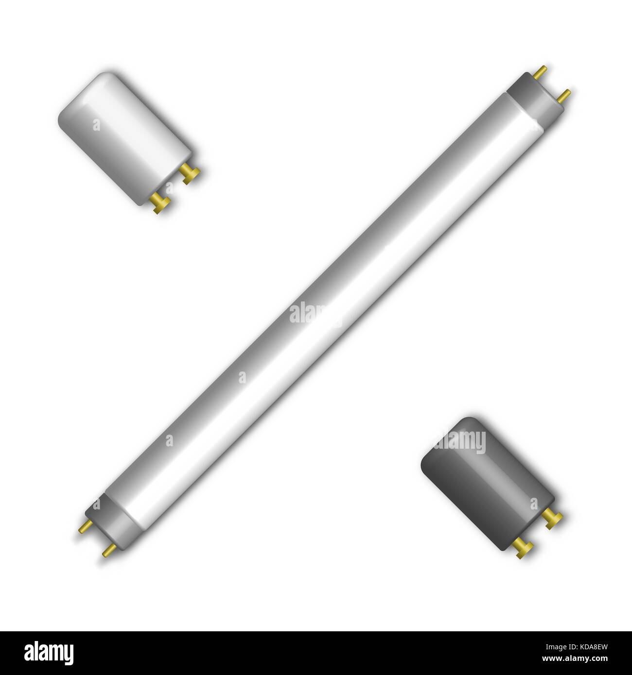 Fluorescent Light Elements: Mercury Vapor Lamp Stock Photos & Mercury Vapor Lamp Stock
