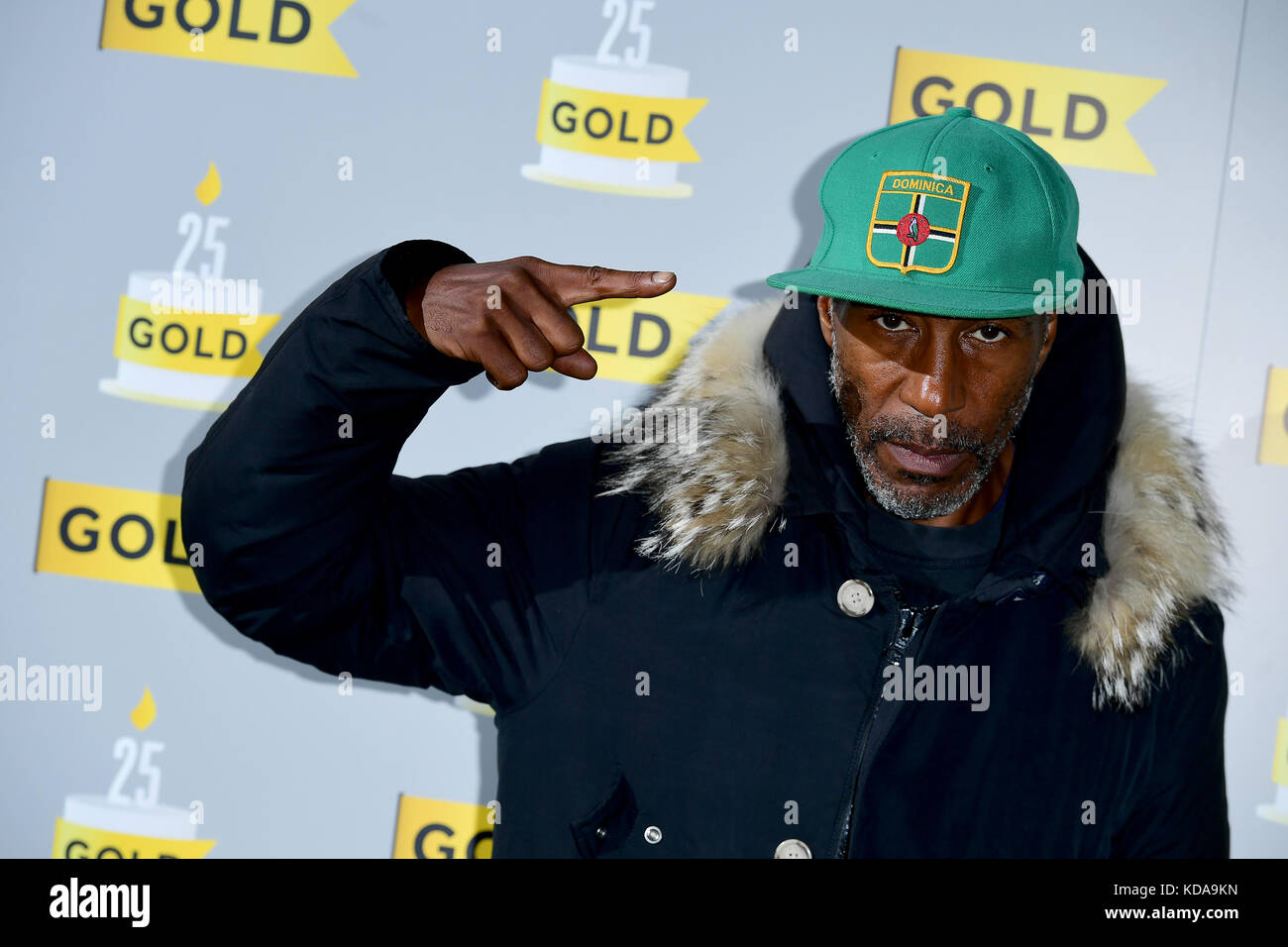 Danny John-Jules attending Gold's 25th birthday party and the launch of UKTV Original Murder on the Blackpool - Stock Image