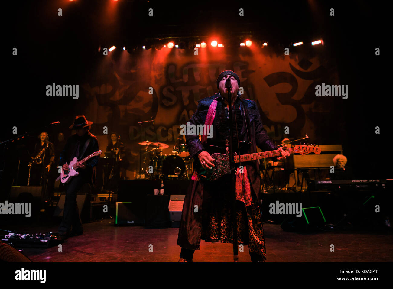 Little Steven and the Disciples of Soul perform at the Danforth Music Hall live in Toronto - Stock Image