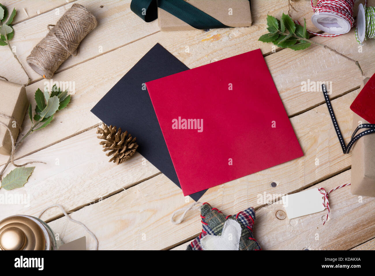 Greetings Card And Envelope Stock Photos Greetings Card And