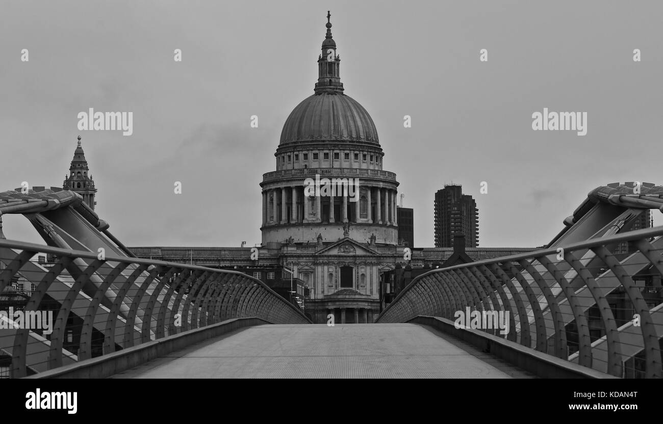 St Pauls Cathedral, London - Stock Image