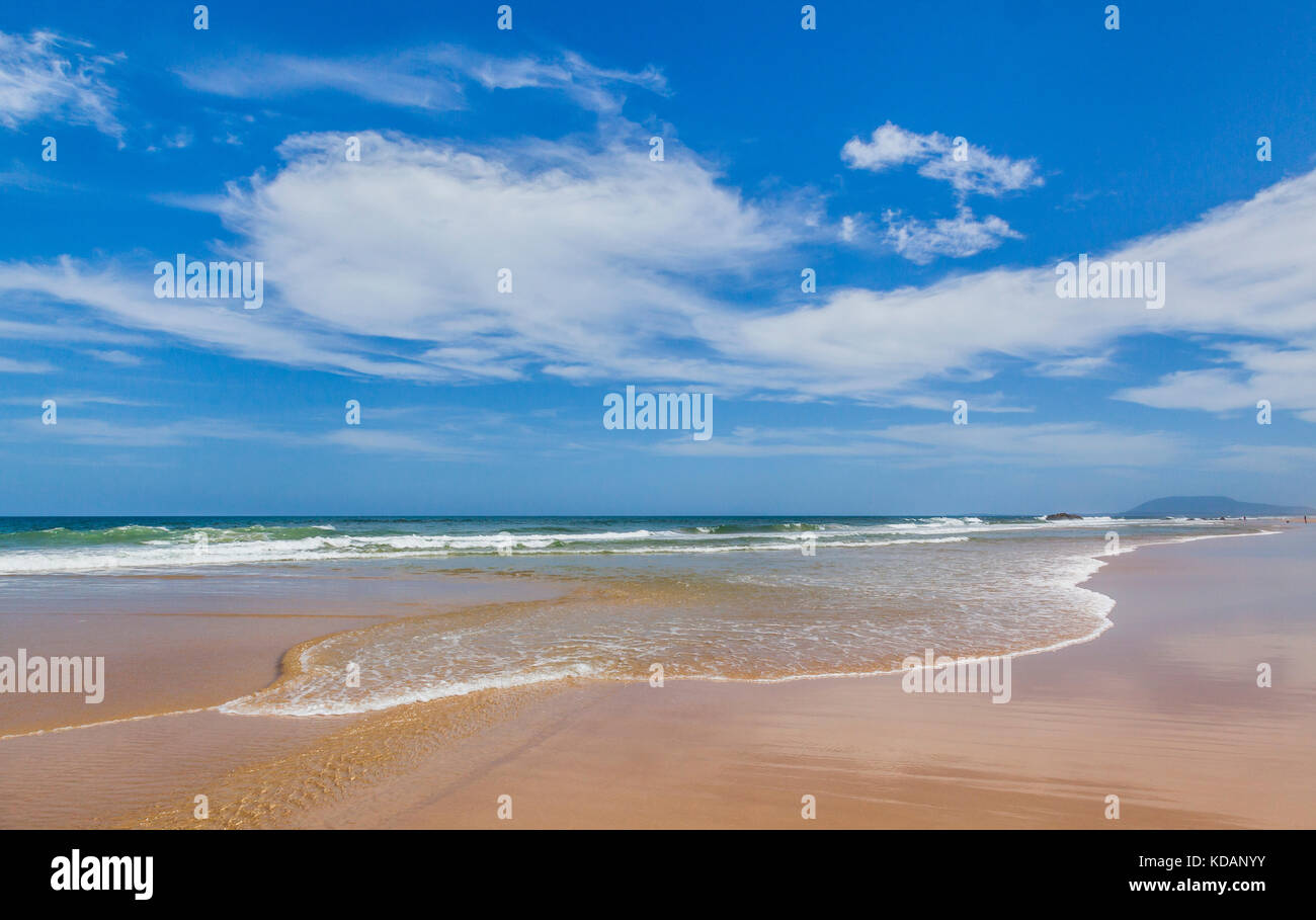 Australia, New South Wales, Mid North Coast, Lighthouse Beach - Stock Image