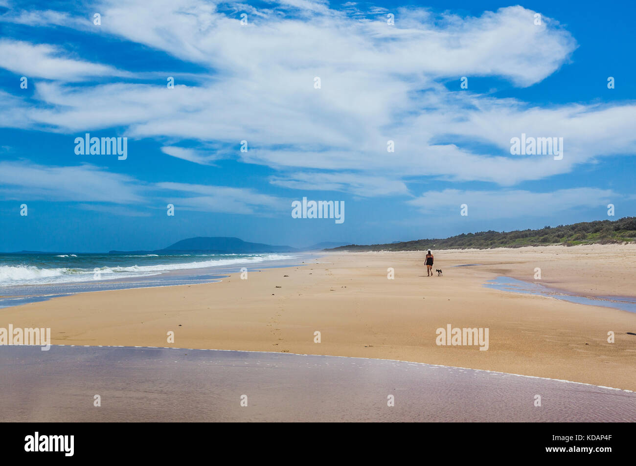 Australia, New South Wales, Mid North Coast, Port Macquarie, Lighthouse Beach - Stock Image