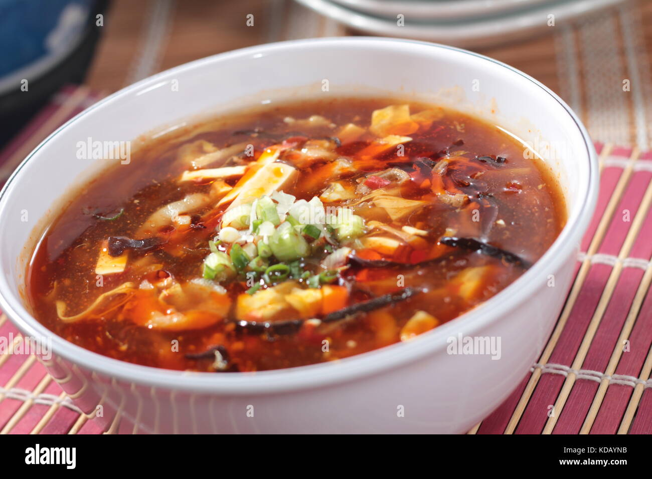 chinese chicken or seafood broth Stock ...