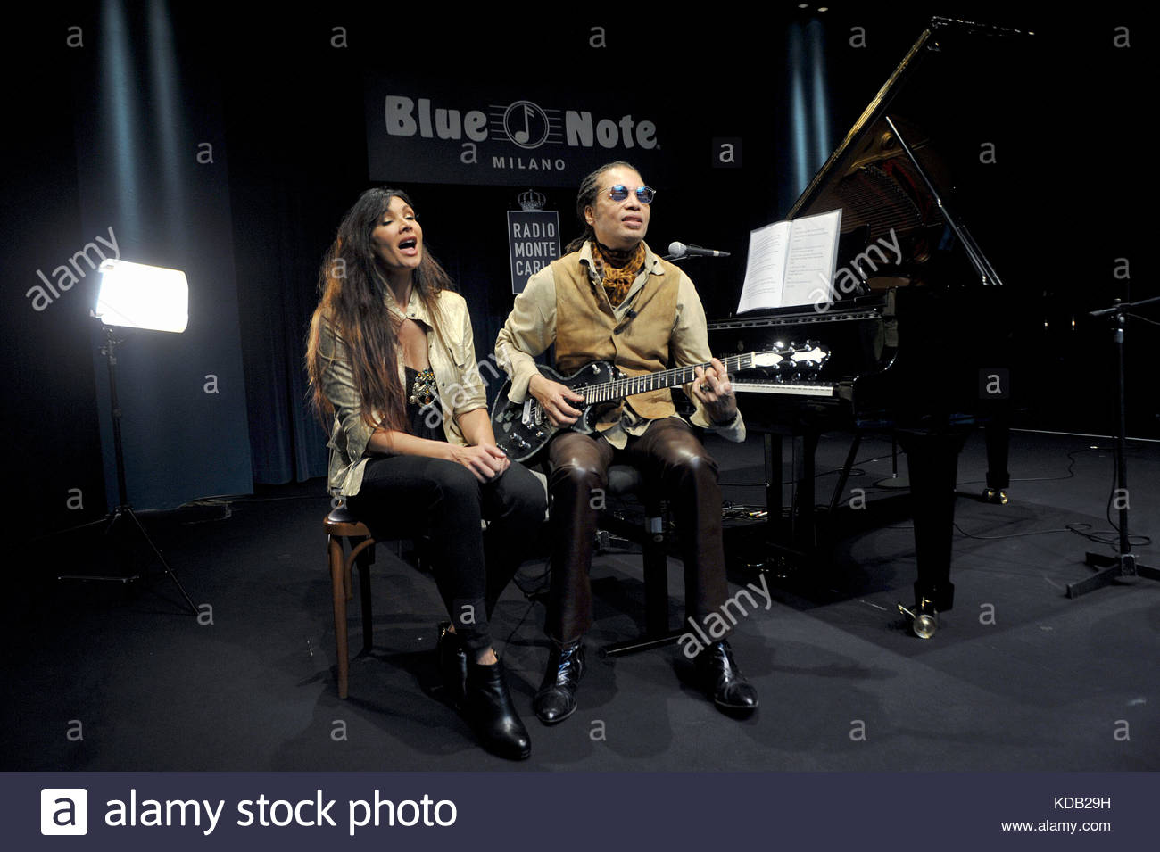 Sananda Maitreya Formerly Known As Terence Trent D Arby And Luisa Stock Photo Alamy