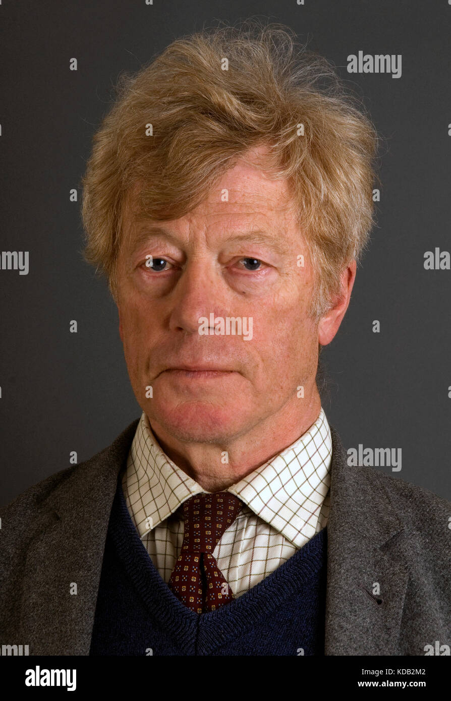 Sir Roger Scruton, philosopher and conservative writer. - Stock Image