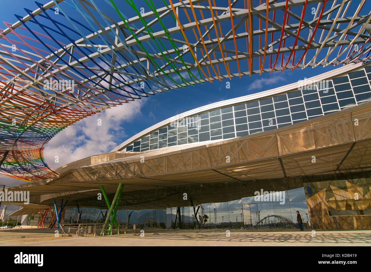 Trade Fairs and Congress Center, Malaga, Region of Andalusia, Spain, Europe - Stock Image