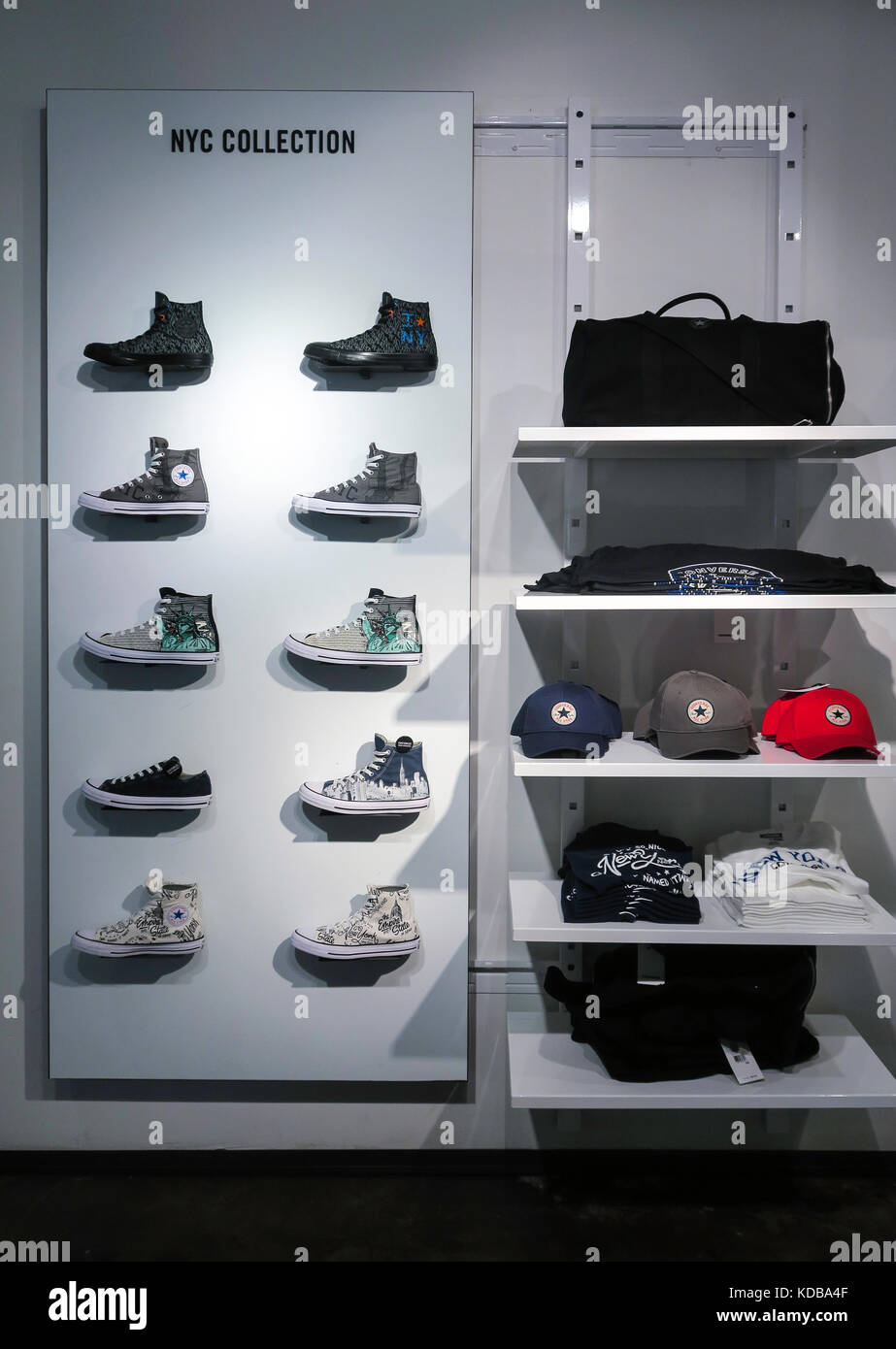 Converse Store in SoHo, NYC USA - Stock Image
