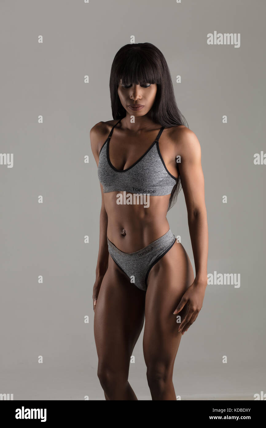Assured, beautiful black female models